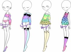 Pastel Party {open} by Homicidal-Bunny