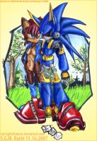 MT- :MetalSonic and Sal: by StephRatte