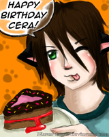 Happy Birthday CeraSo36 by Manga-Lauren