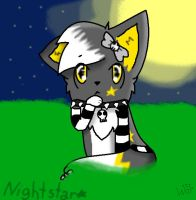 Art Trade with Nightstar by willowtehwolfeh