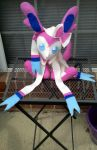 sylveon by fuzzy-ferrets