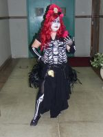 Day of the Dead Cosplay Halloween 2012 by aichan25