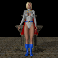 Powergirl Is Yummy by LordSnot