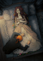 her wake by nami64