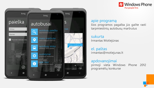 Windows Phone 7: Autobusai by irmantas-11
