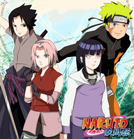 Naruto Shippuden by Megalow
