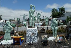 The Green People by Estruda