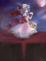 remilia scarlet by patamy