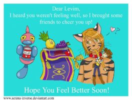Levim-Hope you feel better by serena-inverse