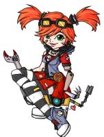 Gaige colored. by meeki