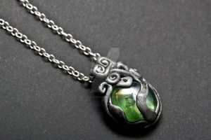 Green spirits of the lake by Tuile-jewellery