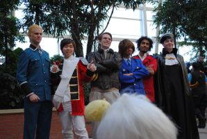 Hetalia - Male cosplayers by Sarahcfgirl