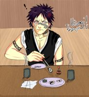 Lunch with Hisagi... by chi-u