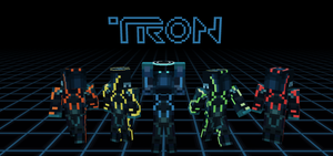 Tron: Evolution MC Skins by KayKove