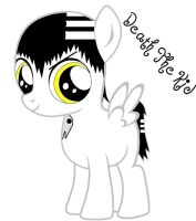 Mlp Fim Death The Kid (Colt) by Puffypaw