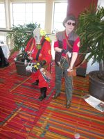 CTcon '12 - RED Pyro and RED Sniper by TEi-Has-Pants