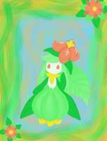 Lilligant - the Flowering Pokemon by VioletRoses23
