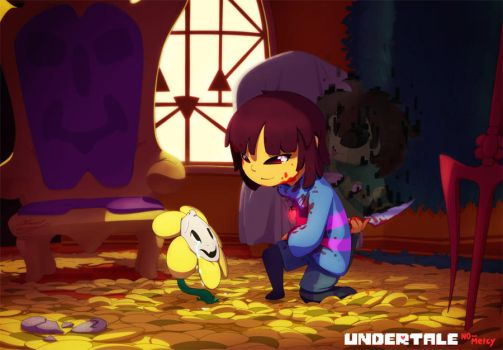 UNDERTALE - Please, don't kill Me.. by Alexia-way