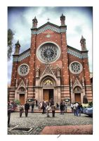 The Saint Antoine Church II by cizmelikedi
