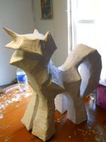 Paper Mache Twilight Sparkle by EarthenPony