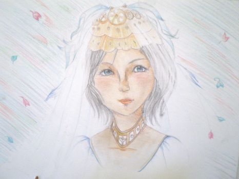 Ashe's wedding by Pimousslb