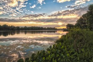 Peculiar Pond HDR by mcschaapveld