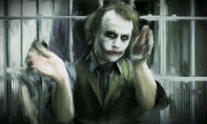 The Joker clapping by SweetPhil