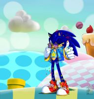 Sonic says Buy the new 3D's  by HouseCatToshimurra