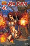 Red Sonja colors by Adrianohq