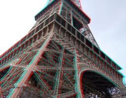 Eiffel Tower 3-D conversion by MVRamsey