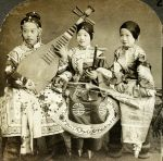Chinese Musicians Canton, China by Brightstone