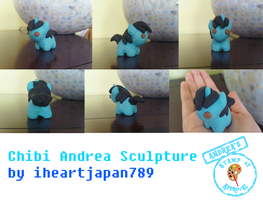 Chibi Andrea Sculpture by iheartjapan789