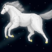 Star horse by Speck--Of--Dust