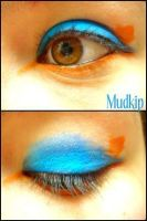 Pokemon Makeup: Mudkip by Steffmiesterx13