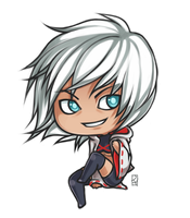 chibi commish for mustic-darkness13 by Rejuch