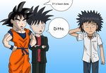 Generic Spiky Haired Guys by AfroOtaku917