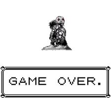 Pokemon Cursed Black Game Over by MGZE