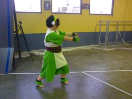 Toph Bending by darkbhudda