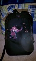 Deadpool backpack by shasoysen