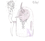 {P} Sibyl_Usar-Lin Concept Art by SophieSuffocate