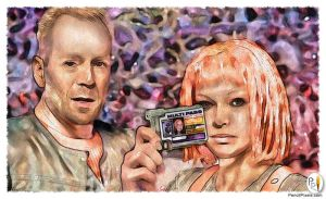 PencilPixels - Fifth Element by PencilComic