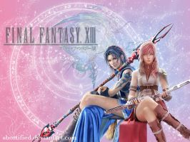 FFXIII: FangLightningWallpaper by Shortified