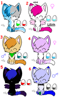 Awesome Adoptables closed by MillyTheTigerKitten