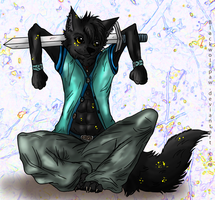 Firefly..with a sword? by Blackwolfpaw