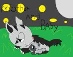Mother Mightyena And Baby Poochyena by pokemonlpsfan
