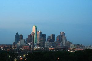 Dallas Skyline by buddenbohn