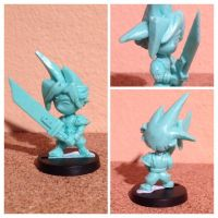 Velvet mark chibi cloud final fantasy 7 miniature by velvetmark