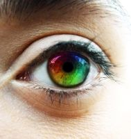 Rainbow Eye 2 by dye-the-eye