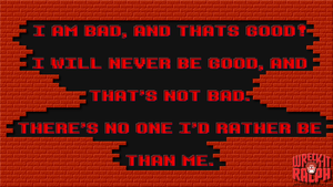 Wreck-It Ralph: Bad Guy Affirmation Quote by Jailboticus