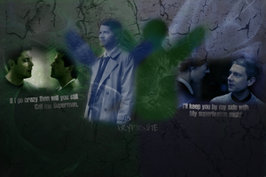SH/JW + Destiel: Kryptonite by 14LolaLoverX3